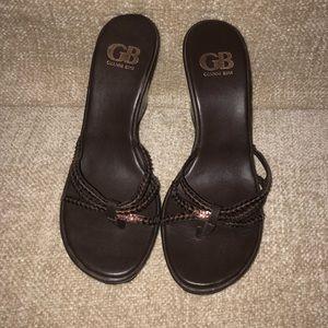 Gianni Bini Brown wedge - Size 7